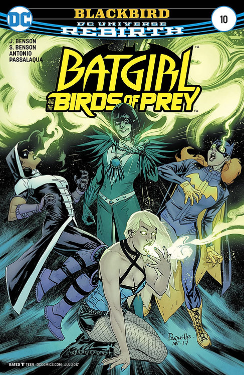 Batgirl and the Birds of Prey (2016-2018) #10