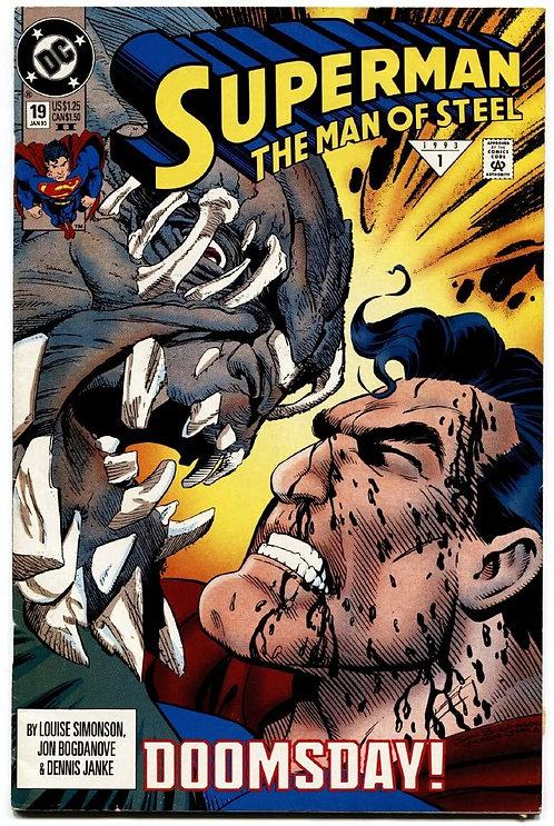 Superman - Man of Steel #19 - 1993