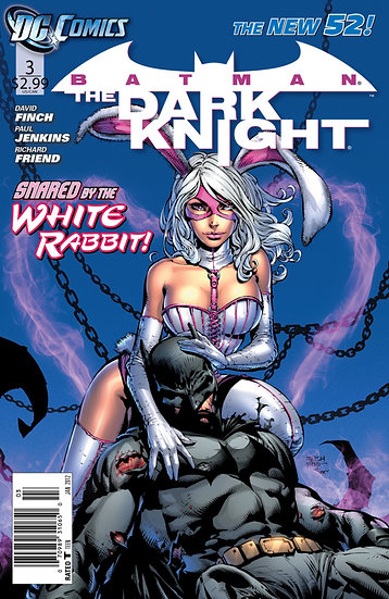 Batman - The Dark Knight #3 Snared by the White Rabbit