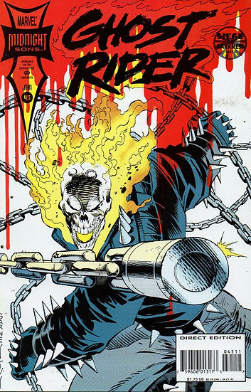 Ghost Rider #45 (midnight sons)