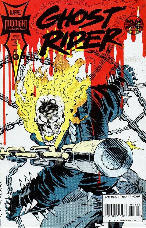 Ghost Rider #45 (midnight sons)