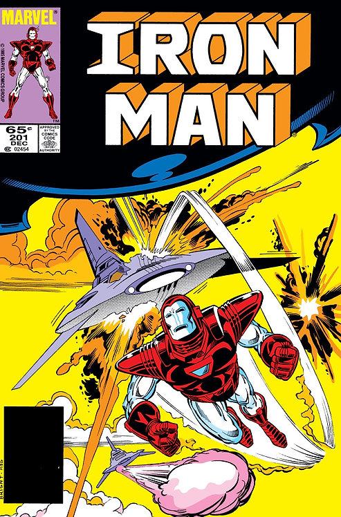 Iron Man #201 - 1985