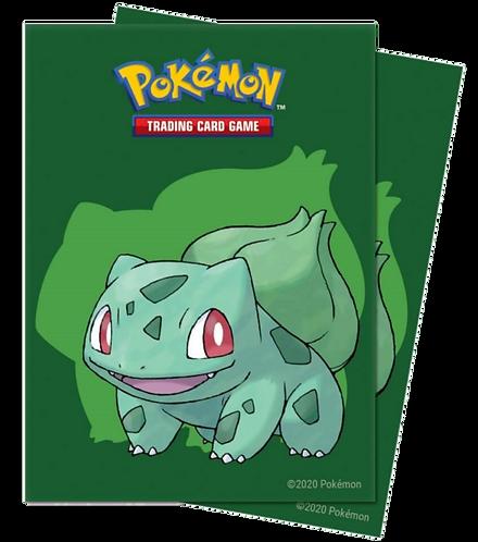ULTRA PRO Pokémon – Deck Protector Chromafusion Sleeve- Bulbasaur