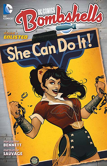 DC Comics - Bombshells Vol 1 Enlisted