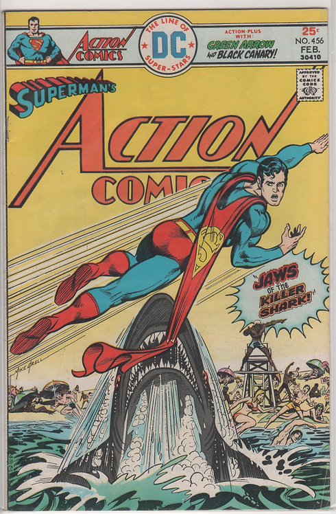 Action Comics Superman #456