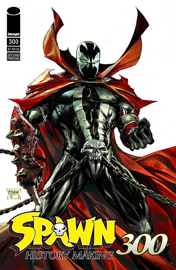 Spawn #300 - Second Printing
