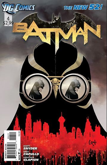 BATMAN #4 New 52 - Cameo of the Court of Owls