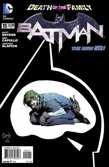 BATMAN #15 New 52