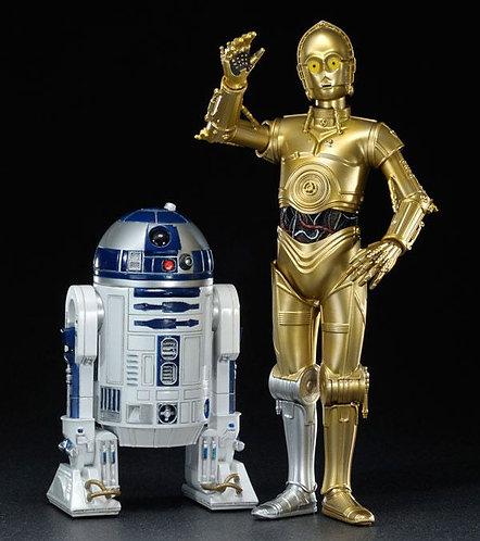 STAR WARS C-3PO & R2-D2 ArtFX+ Statue