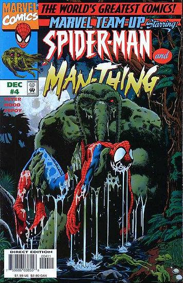 Marvel Team-up Spider-Man & Man-Thing