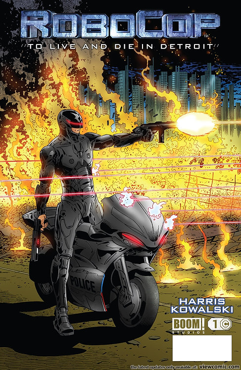 ROBOCOP - to live and die in detroit