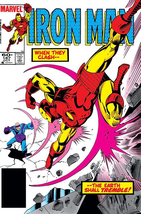 Iron Man #187 - 1984