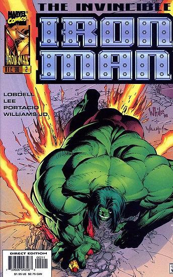Iron Man #2 nov 96