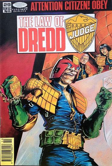 Judge Dredd - The Law of Judge Dredd #29