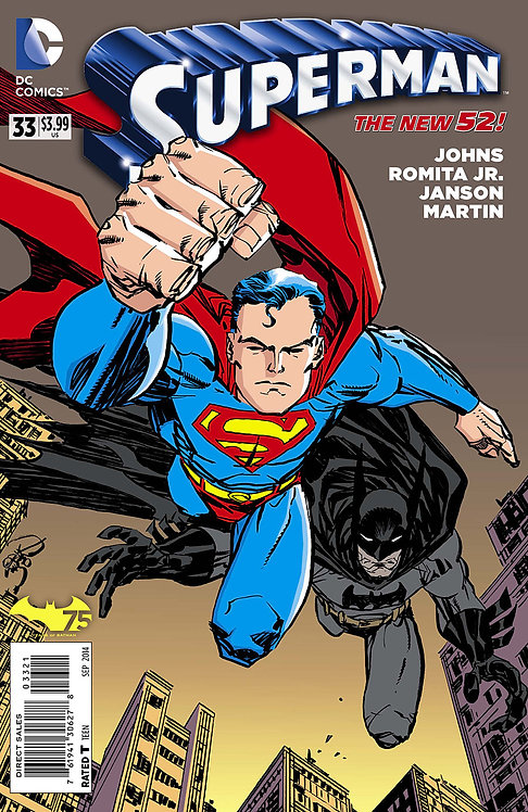 "Superman ""Anniversary Variant Edition"" #33"