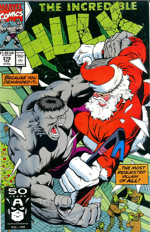 The Incredible Hulk #378