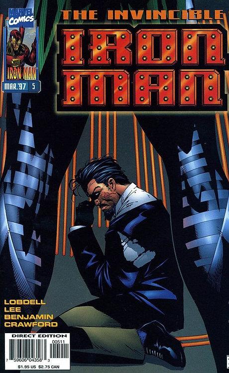 Iron Man #5 nov 96