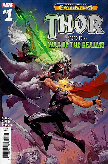 Thor - Roads to War of the Realms #1