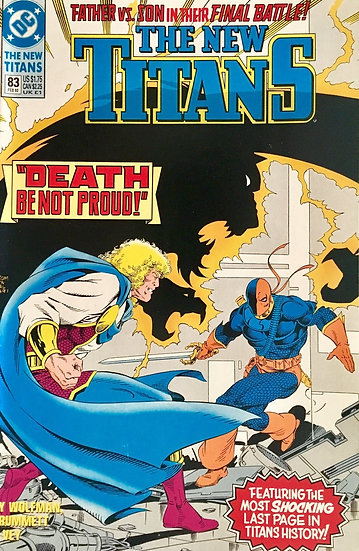 The New Titans #83 - 1992