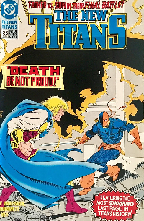 The New Titans #83 - 1992