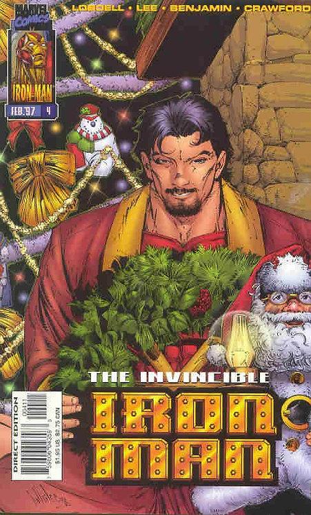 Iron Man #4 nov 96