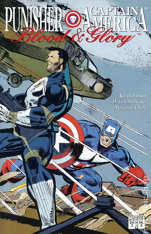 Punisher and Captain America - Blood and Glory part 3
