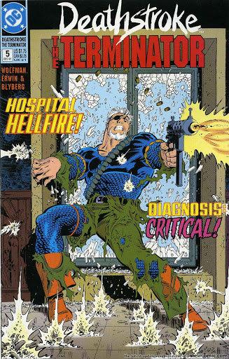 Deathstroke The Terminator #5 - 1991