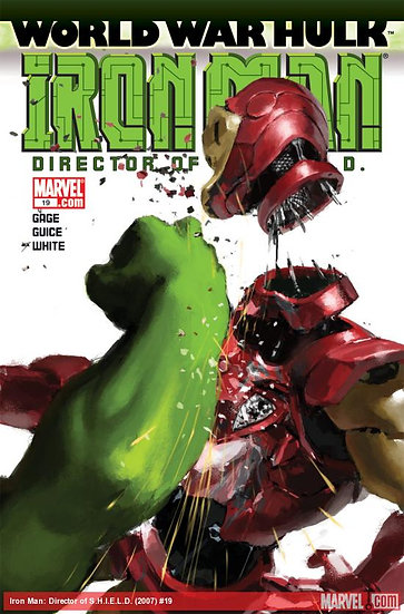 World War Hulk - Iron Man #19