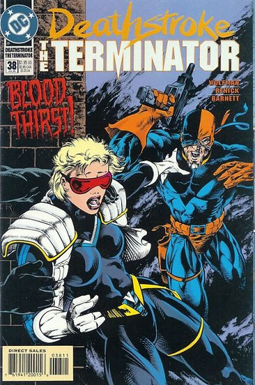 Deathstroke The Terminator #38 - 1994