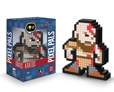 Pixel Pals - God of War Kratos