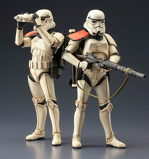 STAR WARS Sandtrooper Two Pack  ArtFX+ Statue