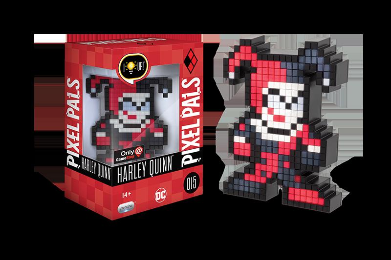 Pixel Pals -DC Comics Harley Quinn