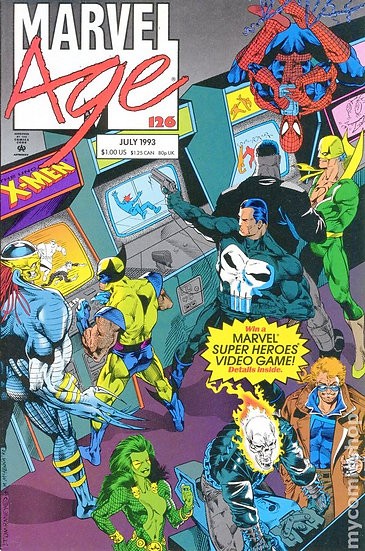 Marvel Age #126