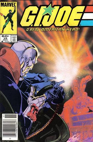 G.I.JOE a real american hero #29