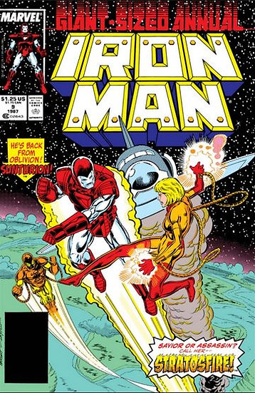 Iron Man - Annual #9 - 1987