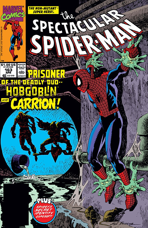 The Spectacular Spider-Man #163 -1990