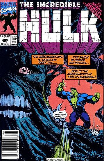 The Incredible Hulk #384