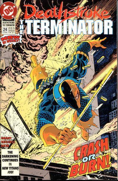 Deathstroke The Terminator #24 - 1993