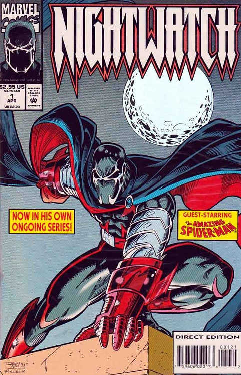 Nightwatch #1 - Foil Cover -1994