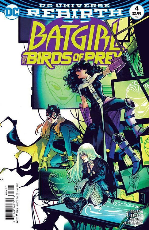 Batgirl and the Birds of Prey (2016-2018) #4