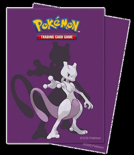 ULTRA PRO Pokémon – Deck Protector Chromafusion Sleeve- Mewtwo