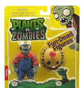 "Plants vs Zombies ""Digger Zombie & Potato Mine"""