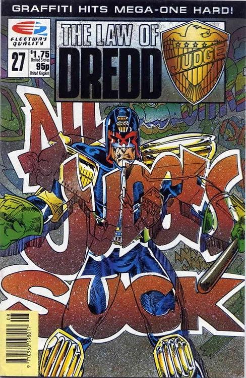 Judge Dredd - The Law of Judge Dredd #27