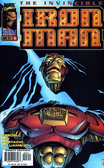 Iron Man #3 nov 96
