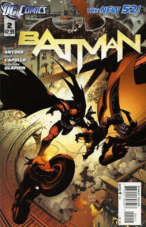 BATMAN #2 New52 - First Appearance of the Talon and First Cameo of Court of Owls
