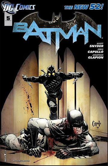 BATMAN #5 New 52