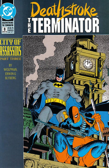 Deathstroke The Terminator #8 - 1992