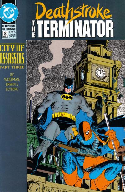 Deathstroke The Terminator #8 - 1992