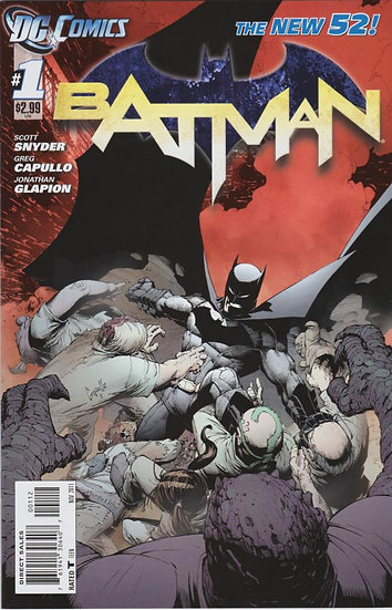 BATMAN #1 New 52 - 2nd printing