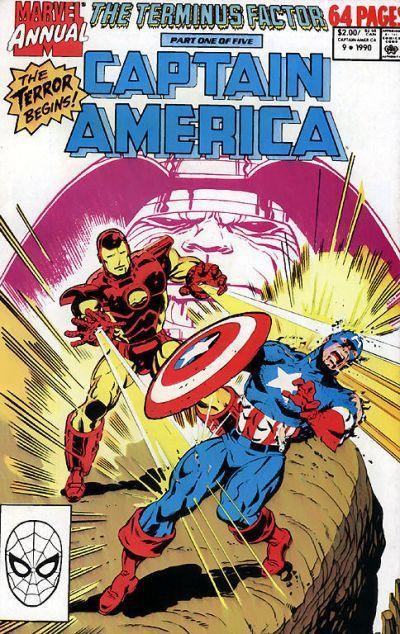 Captain America Annual -1989 #19